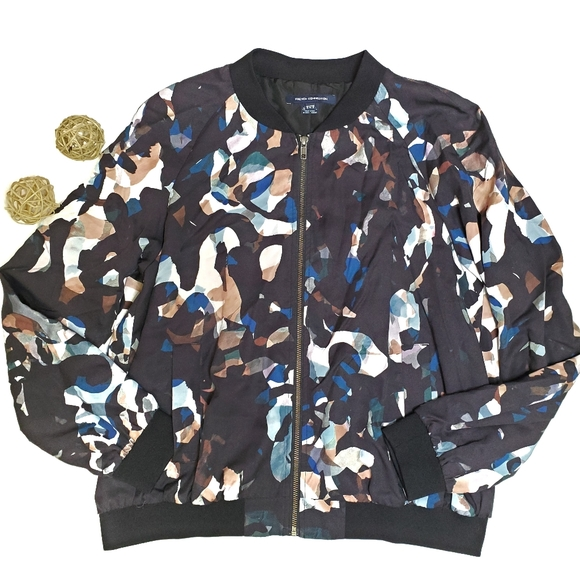 French Connection Jackets & Blazers - French Connection Cornucopia Bomber Jacket
